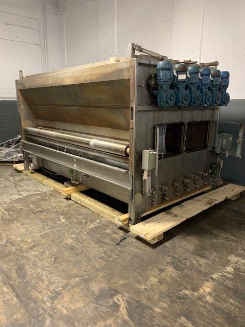2 Benninger EA-4, EA-6 Wash Boxes