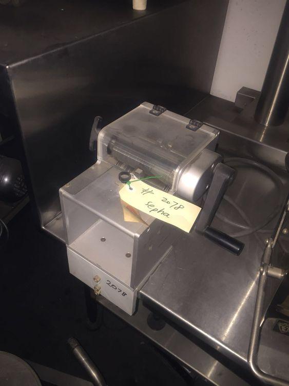 Sepha Deblistering Machine