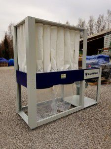 Other DCV6500 Eco, Extraction for dust and wood chips