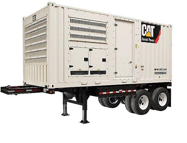 2 Caterpillar XQ570 500 kW Standby