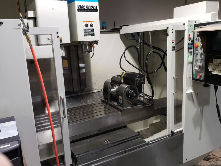 Fadal VMC5020A WITH 5TH AXIS TRUNNION 3 Axis