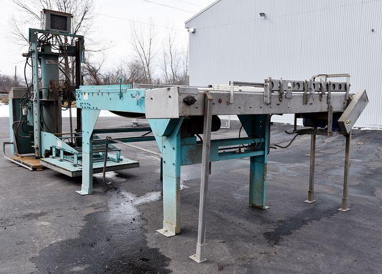 Whallon PD-90 MAGNETIC CAN DEPALLETIZER