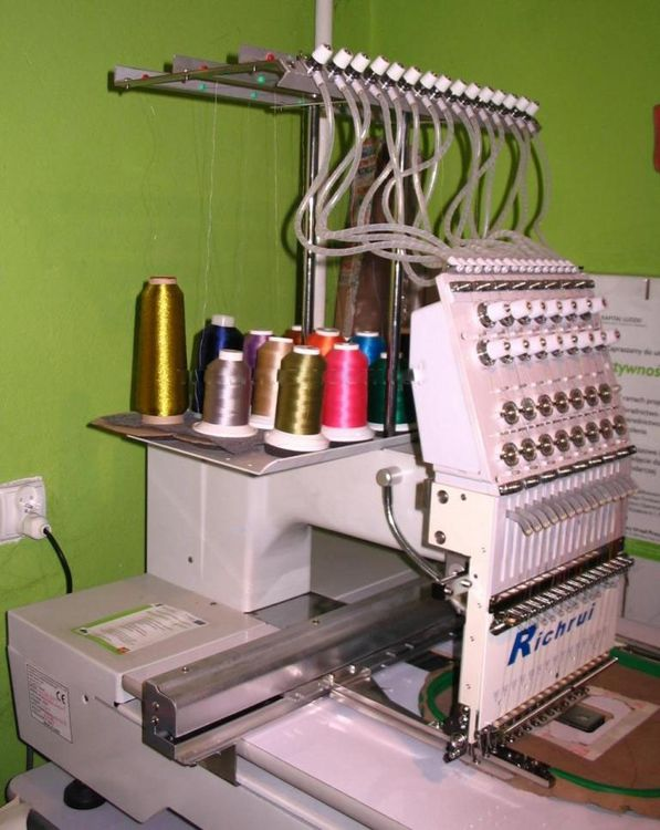 Others RU-FT 1501 Single head embroidery