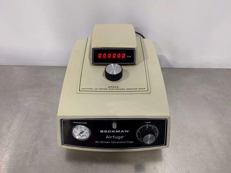Beckman Coulter + 347854 Airfuge Ultracentrifuge w/ Tachometer