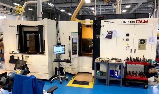 Akari (Averex) HS450i CNC Horizontal Machining Center 4 Axis