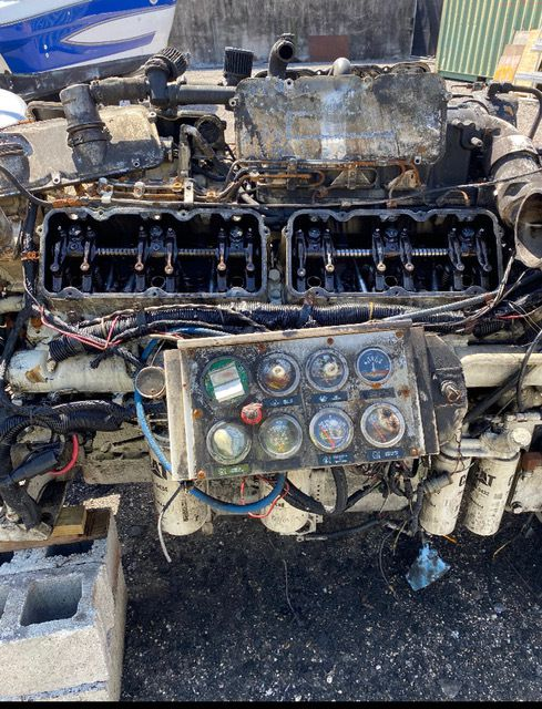 Caterpillar 3412 Diesel Marine Engine