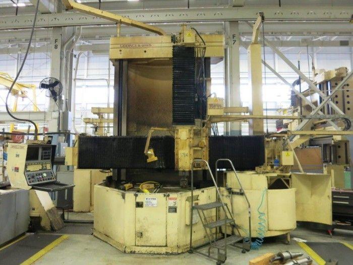 Giddings & Lewis 8000B Vertical turning lathe