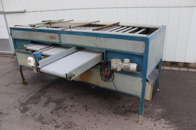 Vitech RS-1200-70-3 radial roller grader with 3 sortings