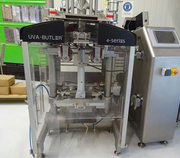 UVA B4-220. vertical form fill seal BAGGING MACHINE