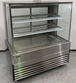 Koldtech KT.SQHCD.12 Square Glass Heated Food Display