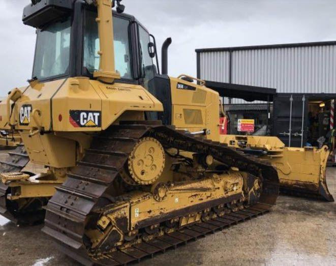 Caterpillar D6N LGP Track Type Tractors