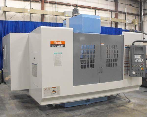 Mazak VTC 200/50, CNC Vertical Machining Center 3 Axis