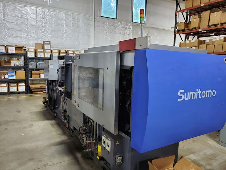 Sumitomo SE130D-CI - 2-Shot, All Electric 143 T