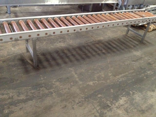Others SS Case Roller Conveyor