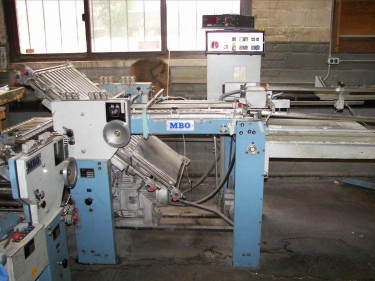 MBO T55 / 44, Folding machine