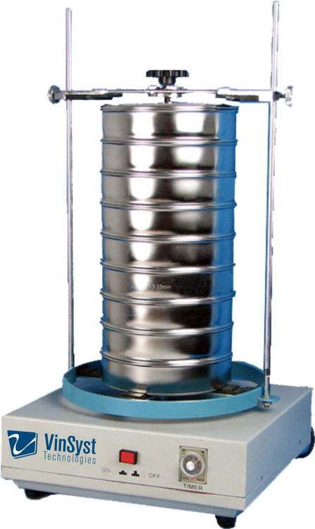 Others VSS Series VinSyst High Frequency Electromagnetic Sieve Shaker VSS Series is ideally used as a particle size analyser for the Pharmaceutical and Chemical Industries by governing the Separation of particles according to their sizes. The instrument can handle Pharmace