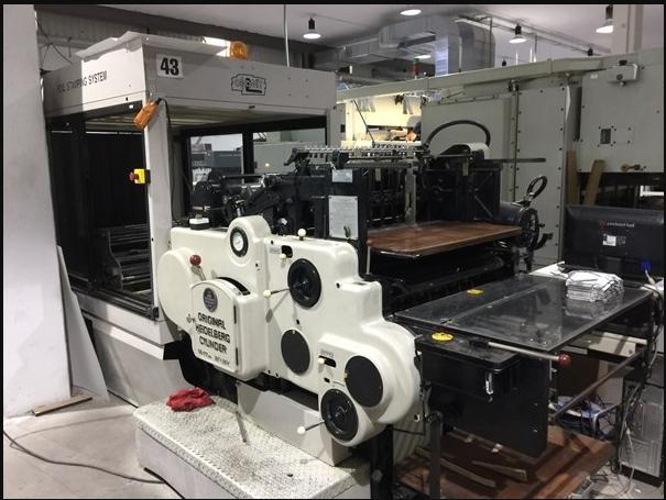 Heidelberg SBG Stamping Machine
