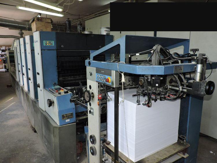 KBA Rapida 74-4+L ALV2 530 x 750 mm