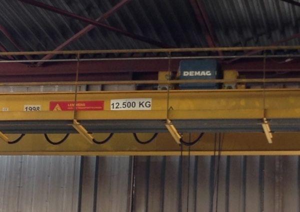 Demag 12.5 T overhead crane