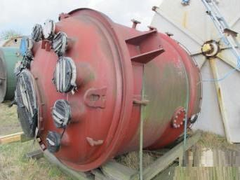 Pfaudler 6,000 Litre Glass Lined Reactor Body