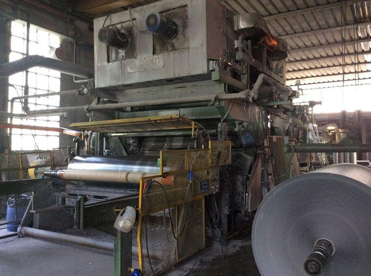 Tissue & MG grades small paper machine 2400 mm, 150 m/ mn 35-40 gsm 12-14 tpd
