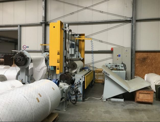 Cameron Surface Rewinder of 1980 and overhauled in 2018. 1800 mm