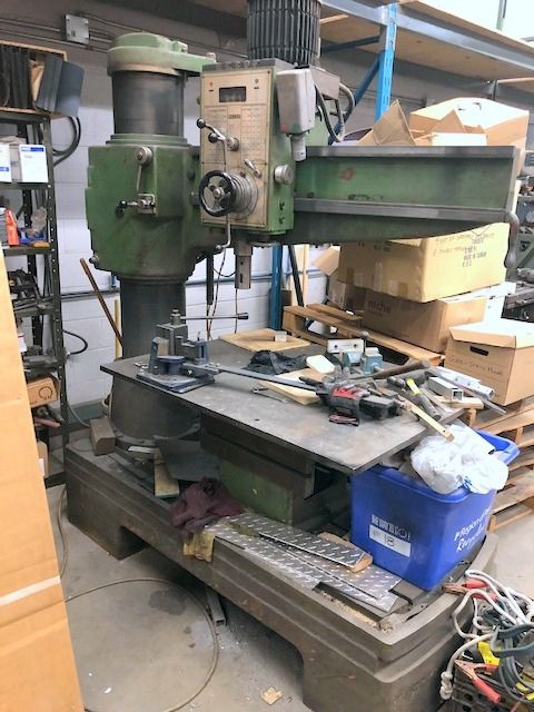 Mecof 35 S Radial Arm Drill Variable