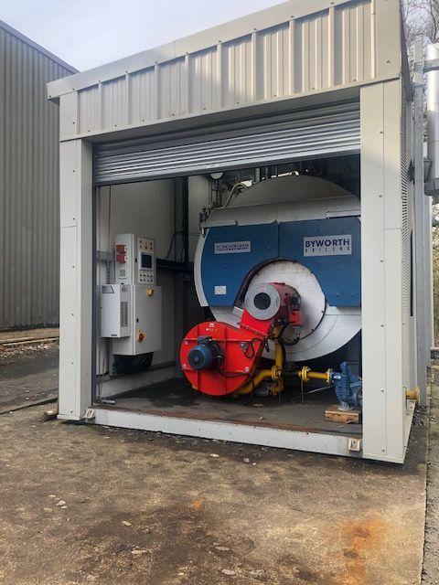 Byworth 18 bar Gas/Dual Fuel boiler of 2004 4 ton/hour