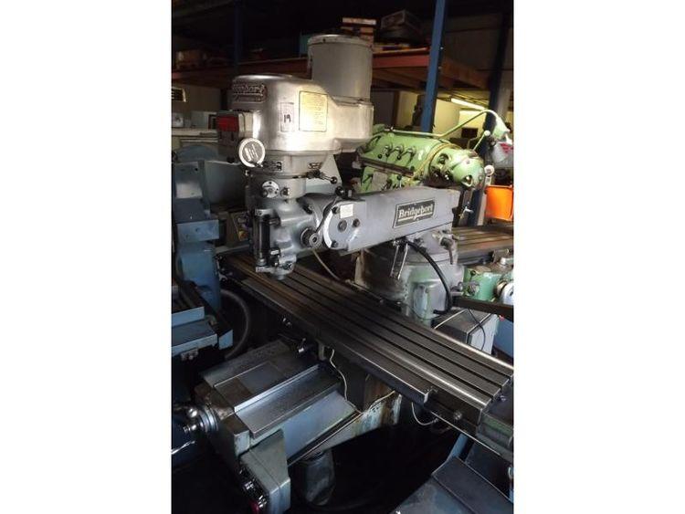 Bridgeport Turret Milling Machine Max. 4600 rpm