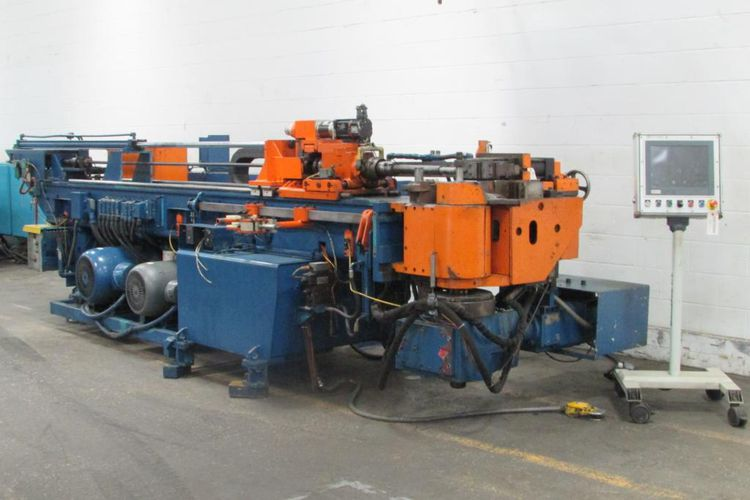 Eagle DB75-ELAP CNC/electric horizontal mandrel type tube bender