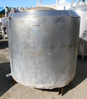 Others Single Shell Stainless Steel Tank 600 Gallon