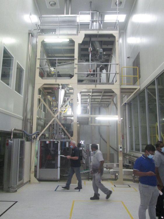 Bosch high Speed Infant Formula/Milk Powder Bagging line