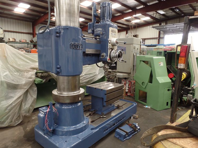 """Ooya 5' RADIAL ARM DRILL  RE3-1600 (5' 4"""" arm) 2180 rpm"""