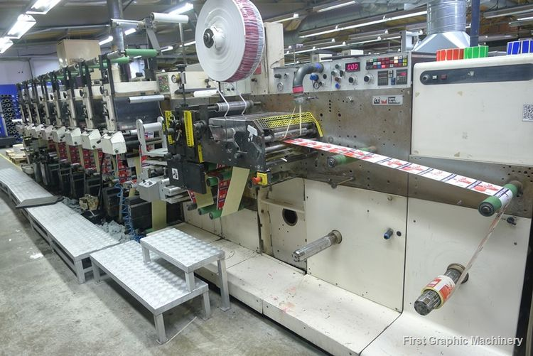 Nilpeter F3000, Self-Adhesive Flexo Label Press