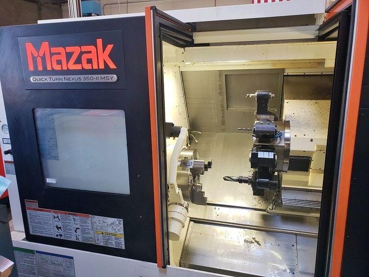 Mazak MAZAK MAZATROL NEXUS 2 CNC CONTROL 3500 rpm QTN 350-II MSY 2015 5 Axis