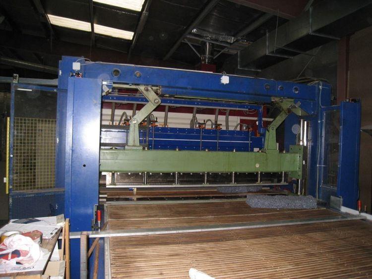 Fleissner, Mohr Guillotine cutting machine