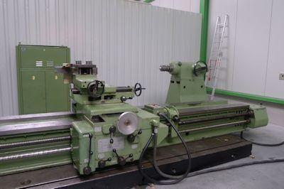 WMW Engine Lathe 112 rpm DP 2000