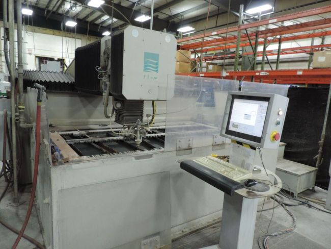 Flow IFB 4800 CNC Control