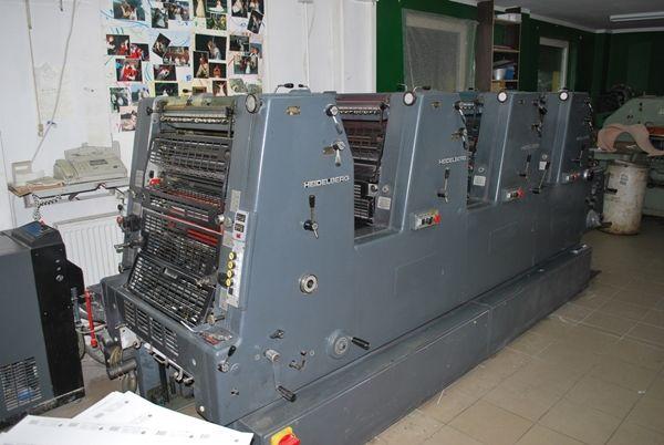 Heidelberg GTOVP 52 36 x 52 cm