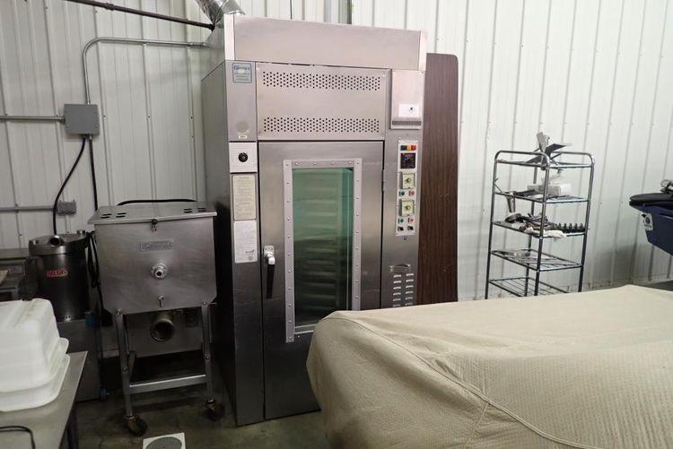 Gemini 1000 LTG Single Rack Oven