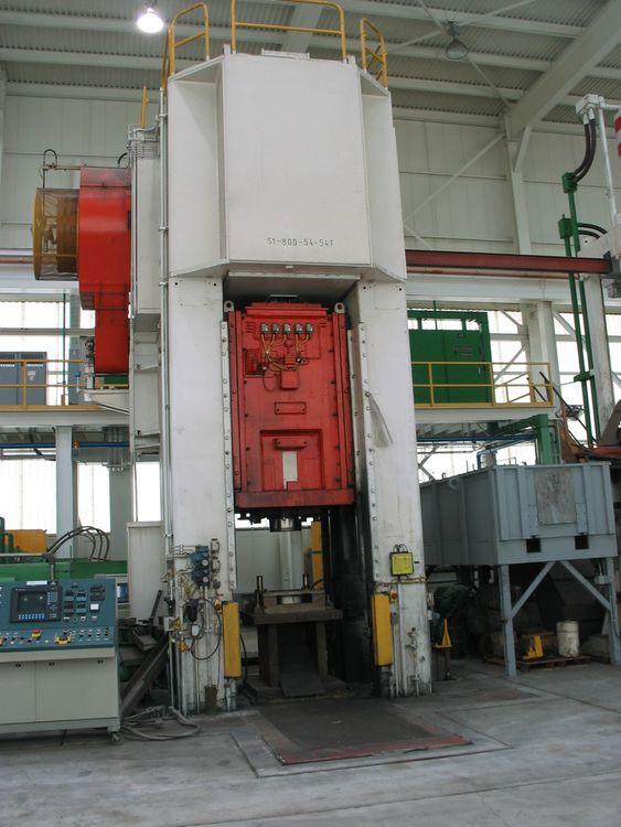 Verson S1-800-54-54T Max. 800 Ton