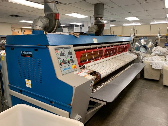 Chicago Imperial 36x120 R Gas Ironer