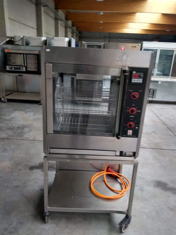 Ubert Gastrotechnik MP-205 Mobile chicken grill