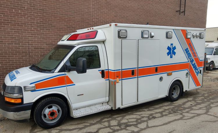 Chevrolet Express Diesel Ambulance