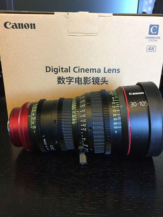 Canon CN-E30-105mm Lens