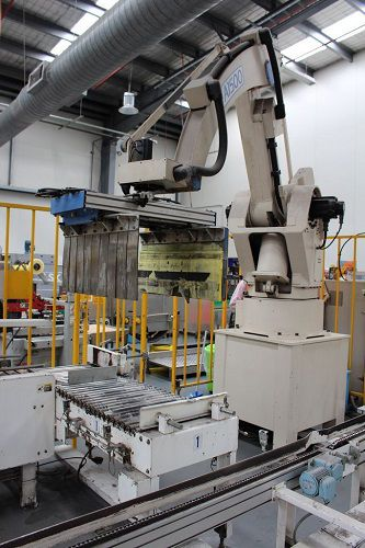 Okura A1500 Robotic Palletiser