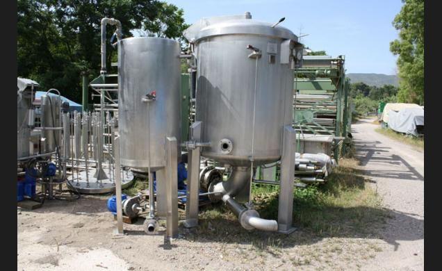 Cavisa, Icymsa AT-VU-200/400 Vertical Cone Dyeing Machine