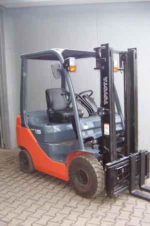 Toyota 8FD15 1500 kg