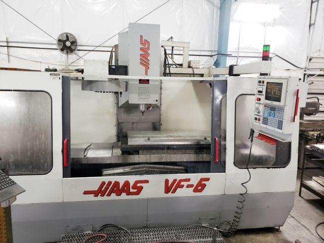 Haas VF-6/40 3 Axis