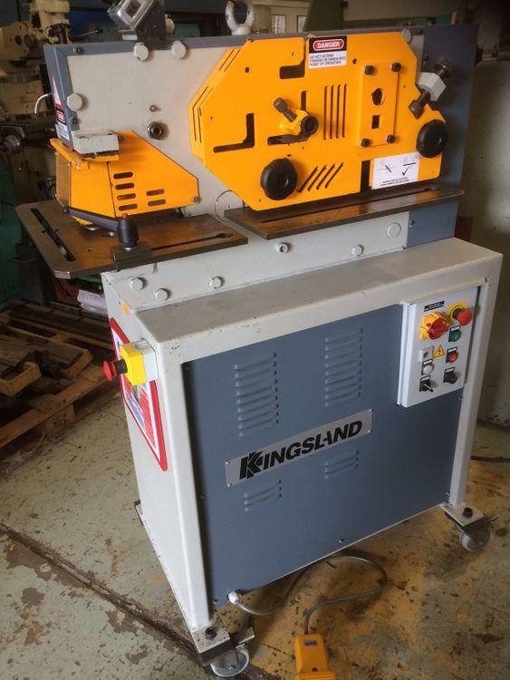 Kingsland Compact 40 Hydraulic Steelworker 40 Ton